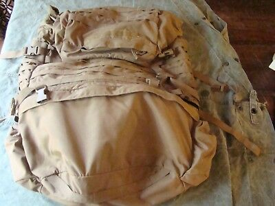 USMC Coyote FILBE complete with Frame Waist belt and Shoulder straps - Field use