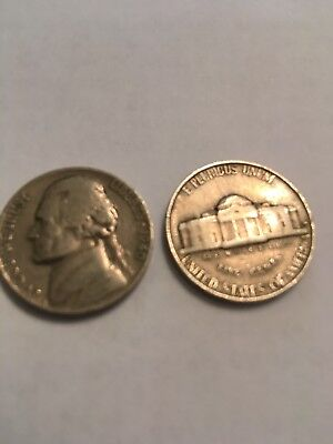 1940 S Jefferson Nickel, Circulated, Low Mintage of 39.6 Mil. FREE  Shipping