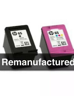 4 refill kits for HP65xl Black+HP65XL Colour ink cartridges For HP3720 HP3730