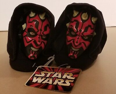 Star Wars Darth Maul Houseshoes/slippers - Kids/Toddlers - Size 7/8 - never worn