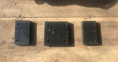 Caterpillar CAT Skid Steer B-Series Step Spacers Over the Tire Steel Tracks