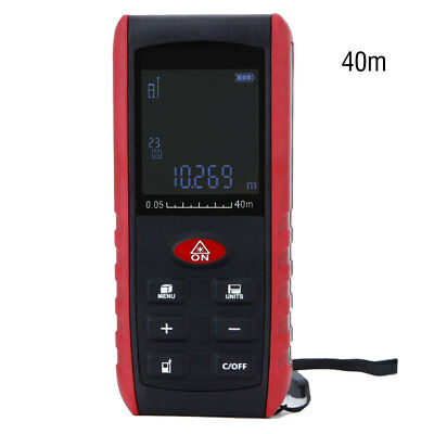 Handheld 40M LCD Digital Laser Distance Meter Range Finder Measure Diastimeter