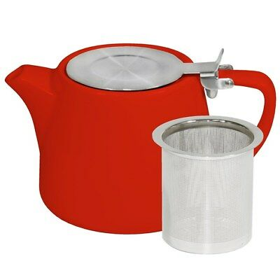 NEW Brew Chilli Red Stackable Teapot 500ml