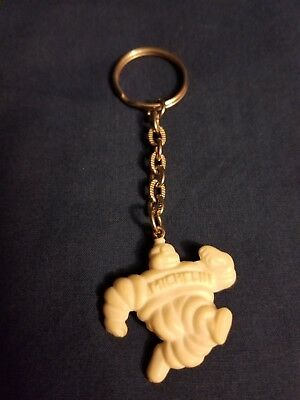 Vintage MICHELIN TIRE MAN Key RIng Key Chain Advertising Promo