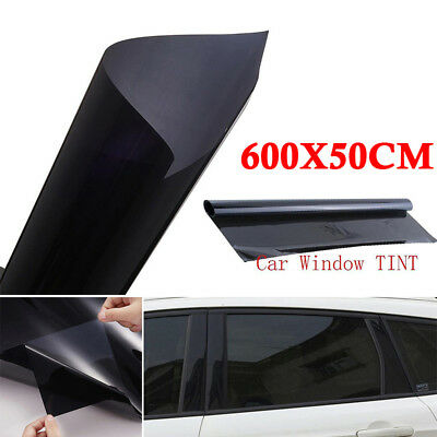 35% VLT Car Black Pro Auto Home Glass Window Tint Tinting Film Roll 50cm*6m New