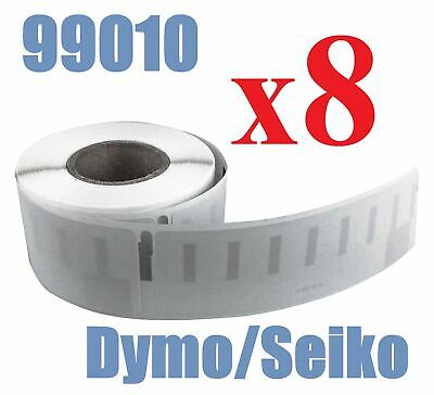 8 x Rolls Labels for Dymo Seiko 99010 89mm x 28 mm LabelWriter 450/450 Turbo