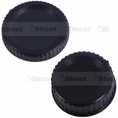 New Body Cover+Rear Cap with installation Point for Nikon FX DX DSLR Camera&Lens