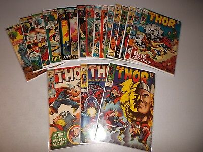 Thor (Bronze Age Lot of 19) 158 162 172 173 183 185 189 191 192 195 196 197 198