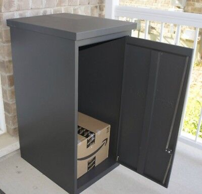 Parcel Drop Box Large Locking Delivery Mailbox Secure Chute Steel Locker