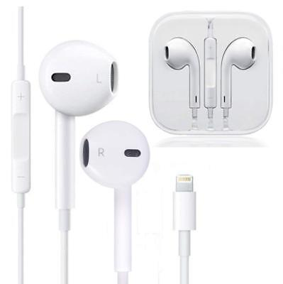For Apple iPhone 7 8 Plus X Headphones Lightning Connector Mic OEM Cable Adapter