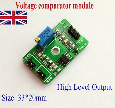 LM393 Voltage Comparator Control Module LED Indicator High Level Output 3-30V P