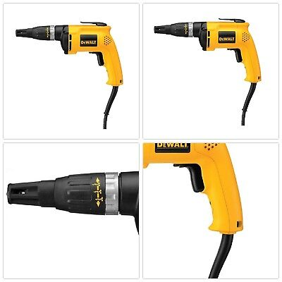 Screw Drill Gun Variable Speed Driver Heavy Duty Electric Light Weight Durable