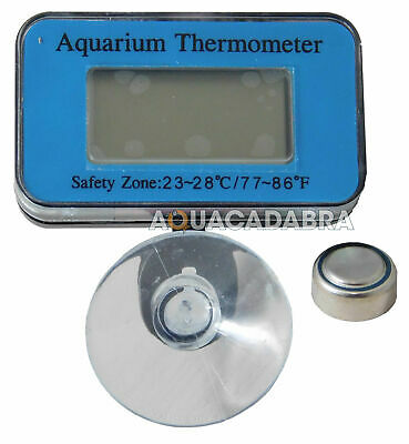 AQUARIUM DIGITAL FISH TANK THERMOMETER SUBMERSIBLE for Juwel Fluval Chi biOrb