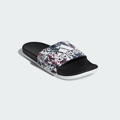 ADIDAS Adilette Cloudfoam Plus Graphic Slipper (B43827)  - Damen Badeschuhe