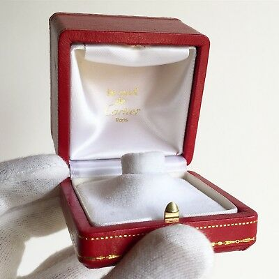 Scatola anello must de CARTIER ring anillo box fodero custodia case vintage rare