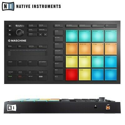 Native Instruments Maschine Mikro MK3 Compact USB Studio Production Controller