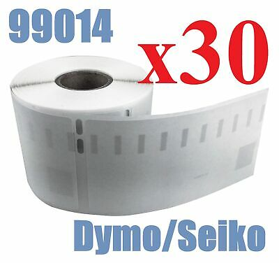 30 x Rolls Labels for Dymo Seiko 99014 54mm x 101mm LabelWriter 450/450 Turbo