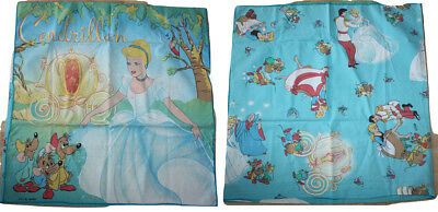 Vintage Disney Cinderella CTI France Pillowcase Square