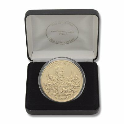 US Civil War 150th Anniversary Commemorative Coin in Presentation case