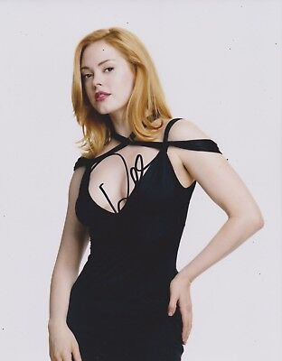 Rose McGowan Signed Charmed 10x8 Photo AFTAL