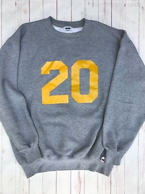 Vintage 1990s RUSSELL ATHLETIC Made in USA V-Stitch Sweatshirt GRAY Sz XL