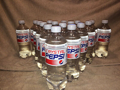 rare unopened crystal pepsi 20 oz limited time expired march 20
