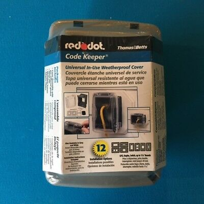 red dot code keeper universal in use weatherproof cover 13 98