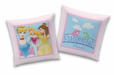 "Coussin imprimé Princesses Disney ""Dreamy Day"" 40 x 40 cm"