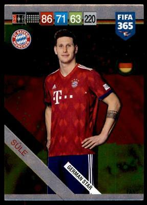 Panini FIFA 365 2019 Adrenalyn XL (German Edition) Niklas Sule German Star #404