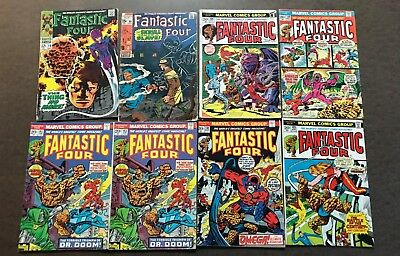 HUGE Lot of 60 Fantastic Four / Iron Man -- SILVER / BRONZE Issues -- Pictured