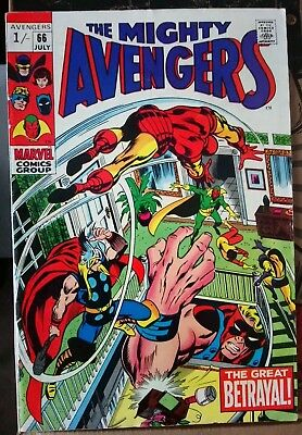 The Avengers # 66, Silver Age Classic, Nice Grade