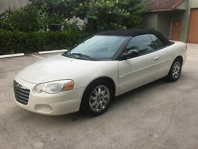 2004 Chrysler Sebring Limited Edition - 2 Door Convertible Perfect Carfax Report - 87k Original Miles - 04 Sebring Limited - 100% FL Car