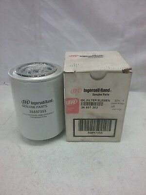 Ingersoll Rand Spin-On Oil Filter Element Air Compressor Part #36897353
