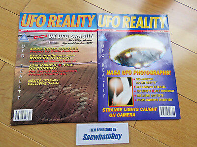 UFO Reality Magazines (UFO Magazine) Crop Circles/ NASA Photographs