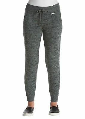 Calvin Klein Womens Comfy  Marled Jersey Lends A Stylish Look Joggers