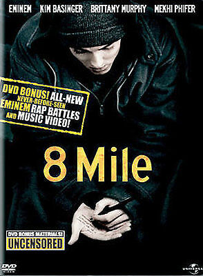8 Mile (Full Screen Edition) DVD, Taryn Manning, Anthony Mackie, De'Angelo Wilso