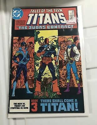 Tales of the Teen Titans #44 (Jul 1984, DC) First Nightwing