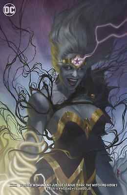 Wonder Woman Justice League Dark Witching Hour 1 Federici Variant Pre-Sale 10/3