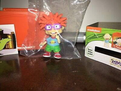 New, Ren And Stimpy Collectible Mini Figure Open Blind Tv Box Chuckie + Sticker