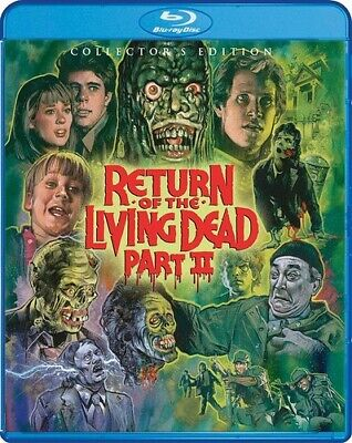 Return Of The Living Dead Part II (Collector's Edition) [New Blu-ray] Collecto