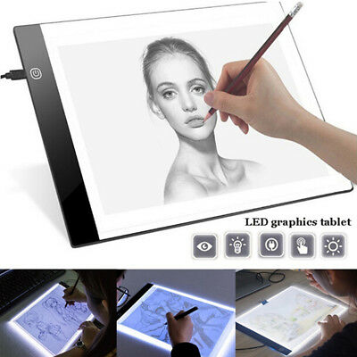 A4 LED Light Copy Painting Board Pad Drawing Training Tracing Board EmbroideryST