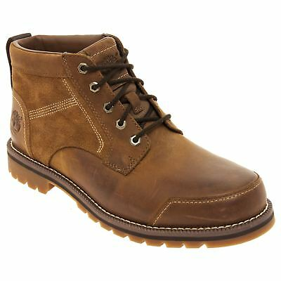 TIMBERLAND BROWN LEATHER Boots Baluster Chukka Lace Up Ankle