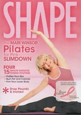 Shape Pilates for Pink Slimdown with Mari Winsor DVD Region 0
