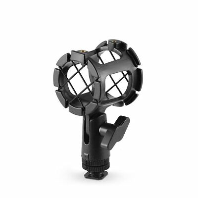 SmallRig Microphone Shock Mount and Cold Shoe Adapter for Camera Shoes/Boompoles