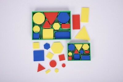 CleverCo Attribute Blocks Set of 60