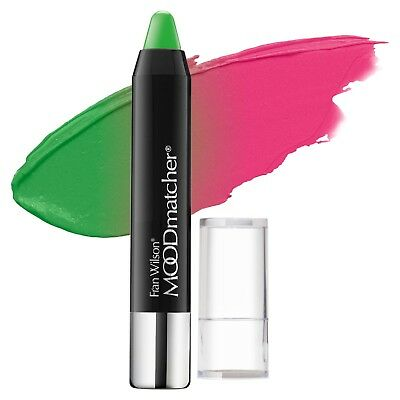 FRAN WILSON MOODmatcher Twist Stick 12 Hour 12hr Lip Color GREEN FullSz 2.9g NIB