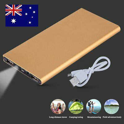 Ultra Slim 100000mAh Portable External Battery Charger Power Bank For Cell Phone