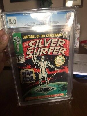 Silver Surfer #1 1968 Cgc 5.0 1968 Price Reduced