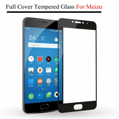 Tempered Glass For Meizu M3S M5 M6 Note M5S Full Cover Screen Protector Film FA1