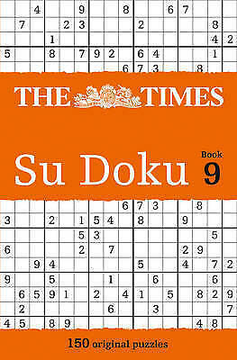 The Times Su Doku Book 9:  The Times Mind Games paperback Book NEW